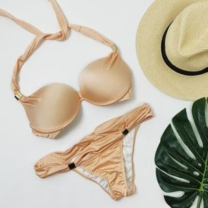 Victoria's Secret Peach Pink Bikini Swimsuit